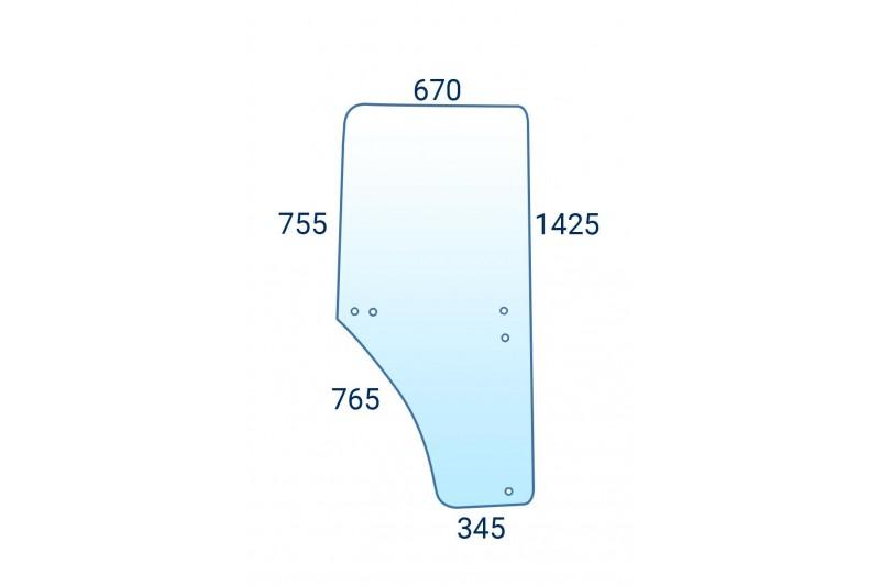 Szyba drzwi lewa do John Deere L213354 - L169102