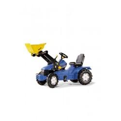 Traktor na pedały z ładowaczem New Holland TD5050 - Rolly Toys 046713