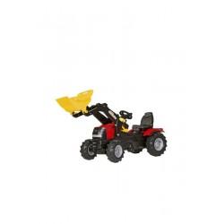 Traktor na pedały z ładowaczem i ogumieniem pneumatycznym Case Puma CVX 225 - Tolly Toys 611126