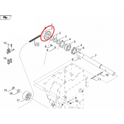 Koło łańcuchowe do New Holland Case 84075110 - TraktorParts.pl