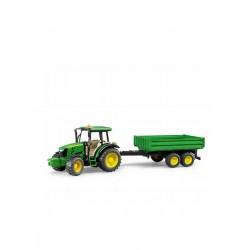 Ciągnik z przyczepą John Deere 5115M - Bruder 02108 - TraktorParts.pl - 1