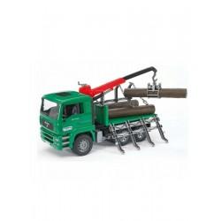 Bruder 02769 - Cieżarówka MAN do drewna - TraktorParts.pl - 1