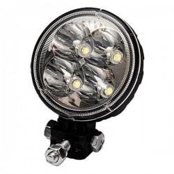 Okrągła lampa robocza LED AGTECH 693LED0094 - TraktorParts.pl