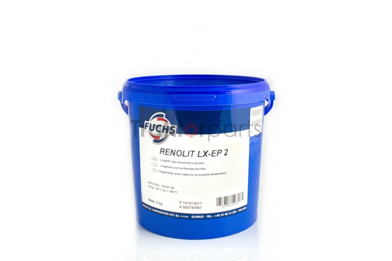 Smar Fuchs Renolit LX-EP2 - wiadro 5 kg