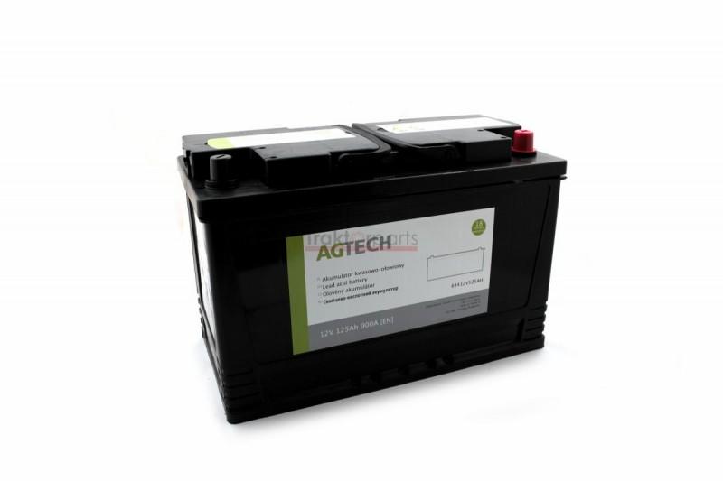 Akumulator 12V 125AH 900A - AGTECH 64412V125AH - TraktorParts.pl - 4
